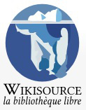 Conférence - Wikisource, la bibliothèque libre : un commun de la connaissance