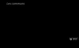 Notion à la une : les communs