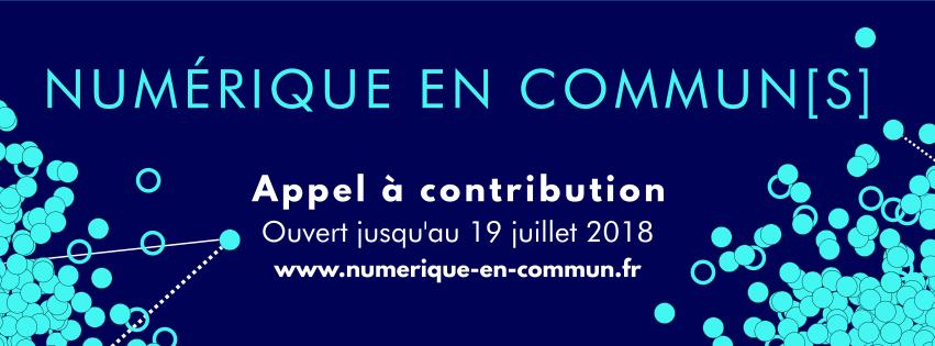 Numérique en commun[s] - Appel à contribution
