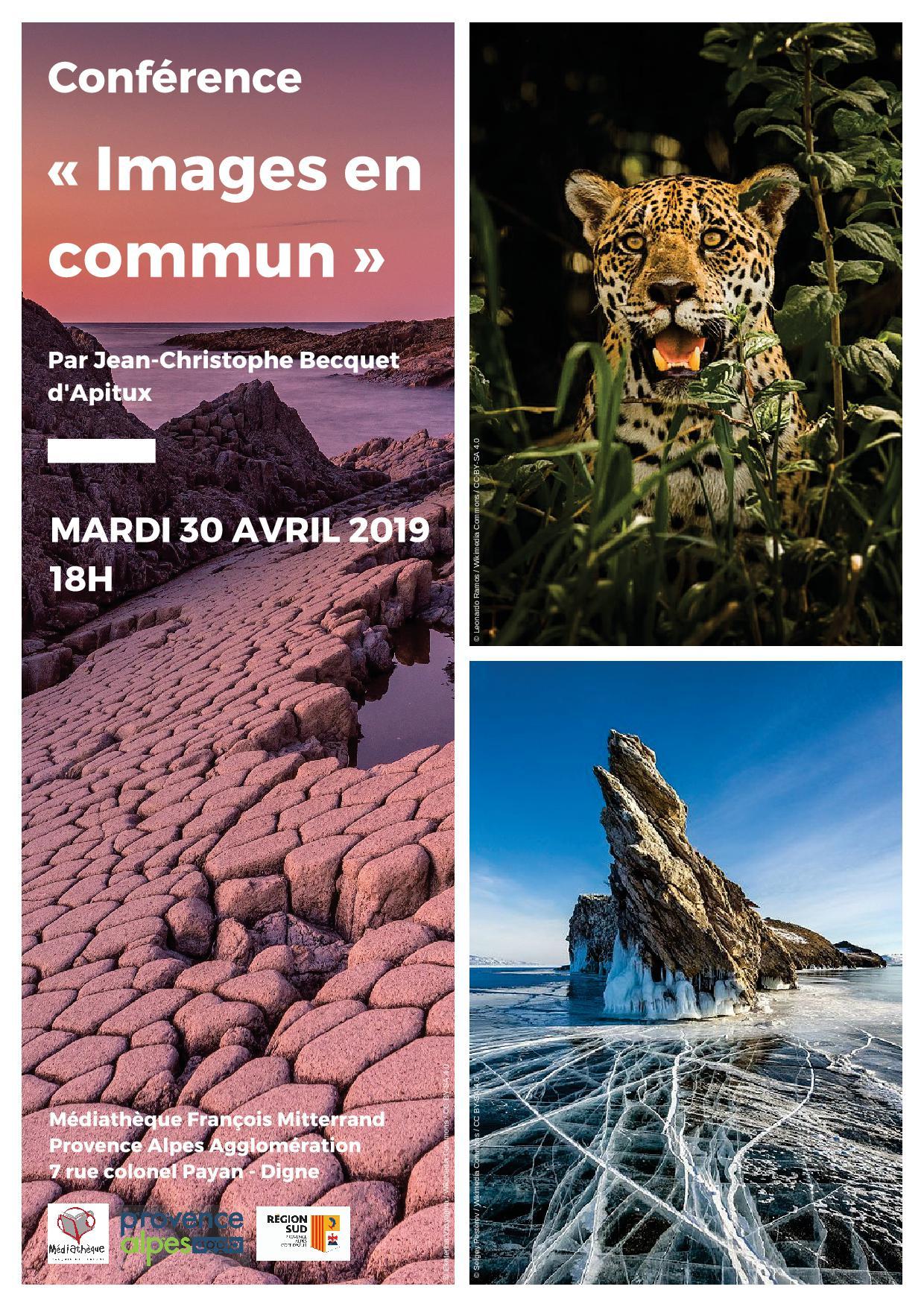 Digne les Bains Conférence Images en commun